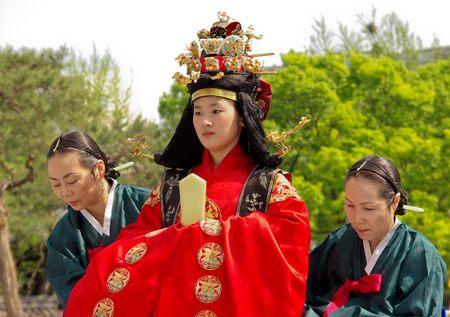 Garye, koreai királyi esküvő – képgaléria